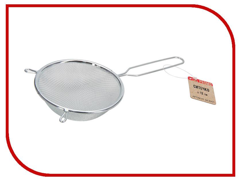 Дуршлаг Regent Inox Linea Promo 12cm 94-4201 нож для пиццы regent inox linea promo 94 3705