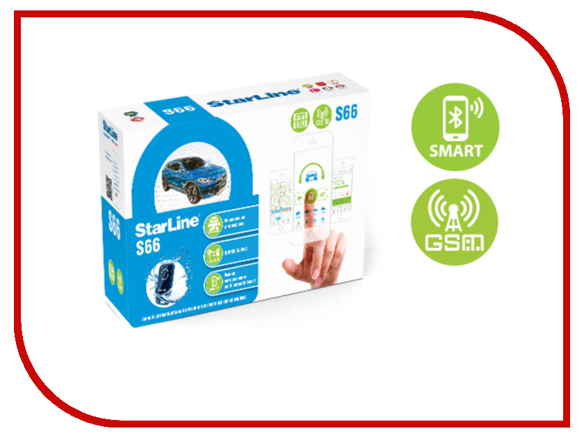 Сигнализация StarLine S66 BT 2Can+2Lin Gsm kid s box level 2 pupil s book