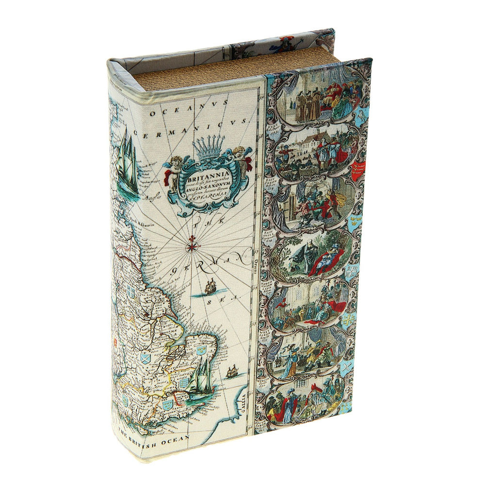 Сейф книга СИМА-ЛЕНД Путешествия вокруг света 109218