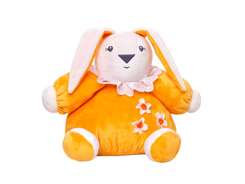 Игрушка Princess Love Зайчик-погремушка 24cm Yellow недорго, оригинальная цена