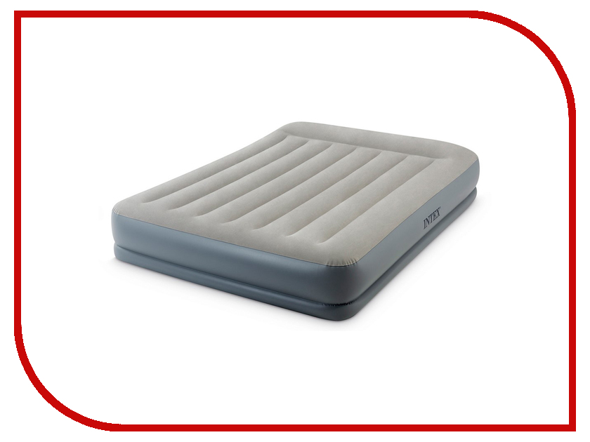 Надувной матрас Intex Mid-Rice Airbed 152x203x30cm 64118 цена