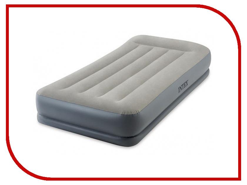 Надувной матрас Intex Mid-Rice Airbed 99x191x30cm 64116 intex надувной матрас pillow classic airbed