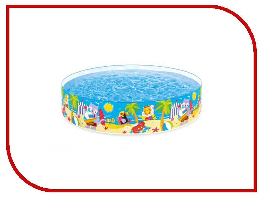 Детский бассейн Intex Морские друзья 58457