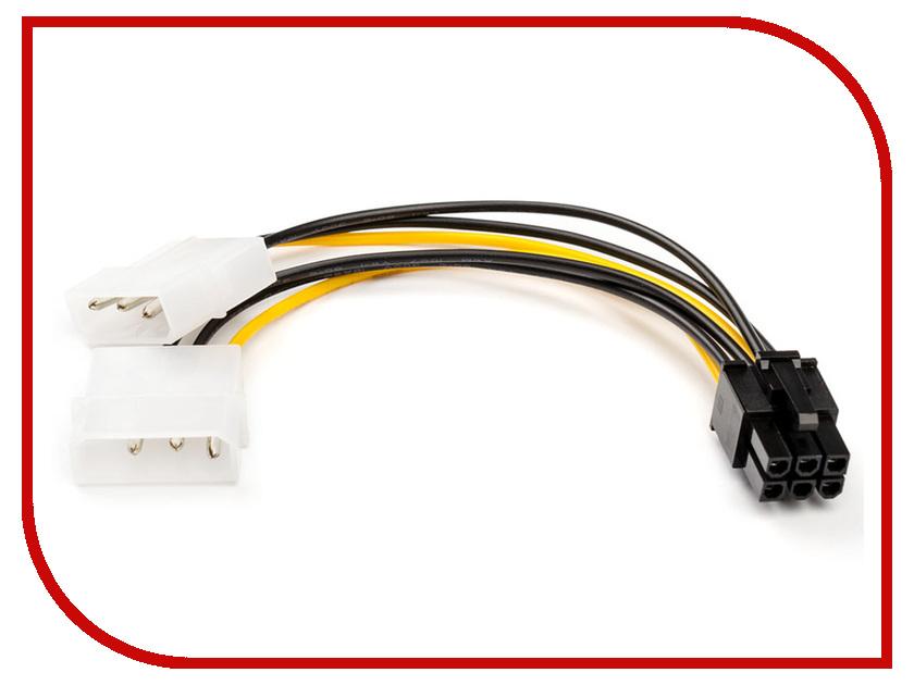 Аксессуар Кабель ATcom 6-pin - 2x Molex AT6185