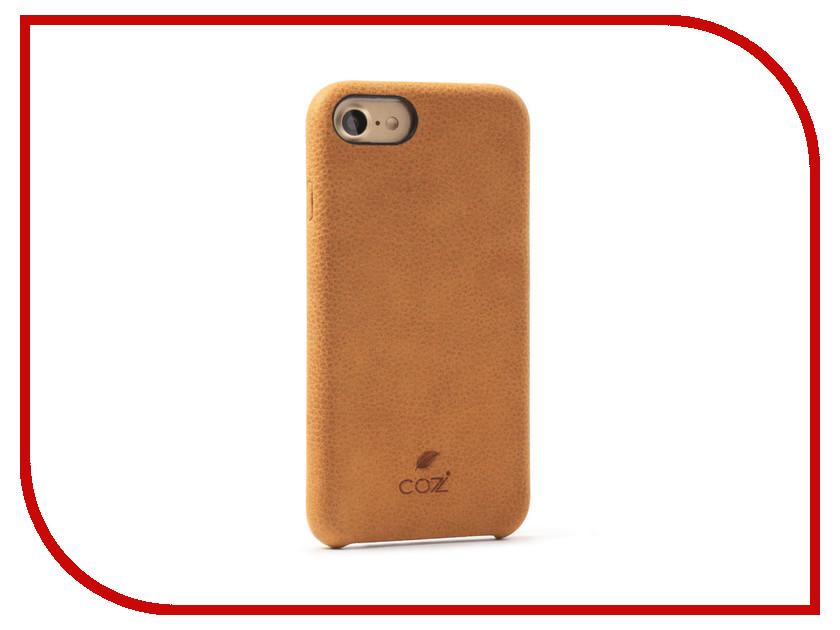 Аксессуар Чехол Cozistyle Cozi Case для iPhone 8 / 7 Brown CGLC7018 чехол аккумулятор deppa nrg case 2600 mah для iphone 7 белый 33520