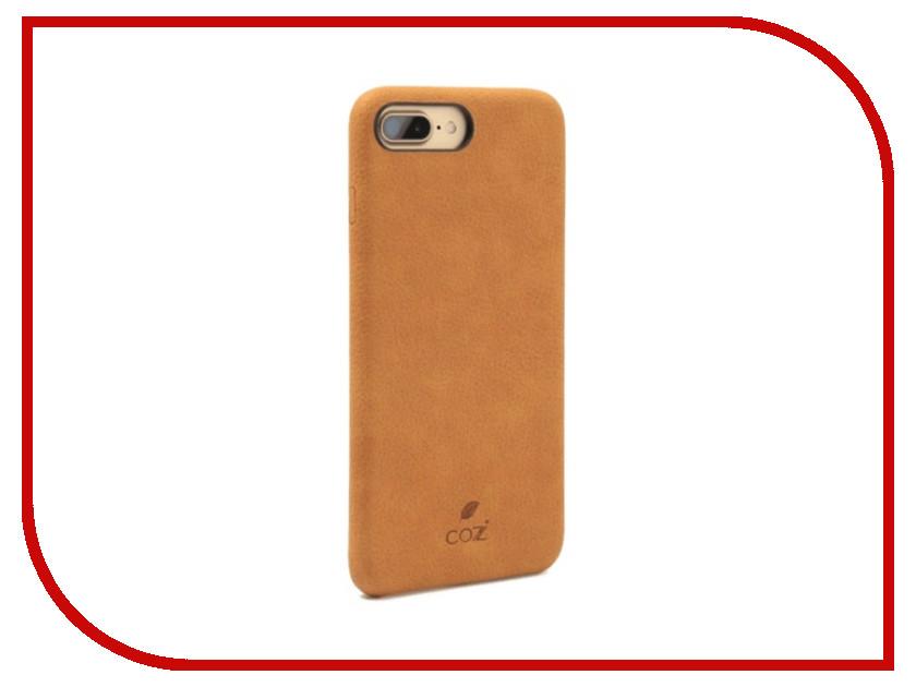 Аксессуар Чехол Cozistyle Cozi Case для iPhone 8 / 7 Plus Brown CGLC7+018 aqua буба 7 77mm цвет 018