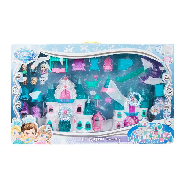 Кукольный домик Игруша Замок GK-1206 GL000525015 платье gk moscow gk moscow mp002xw1aqdg
