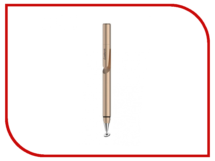 Аксессуар Стилус Adonit Jot Mini 3.0 Gold стилус polar pp001