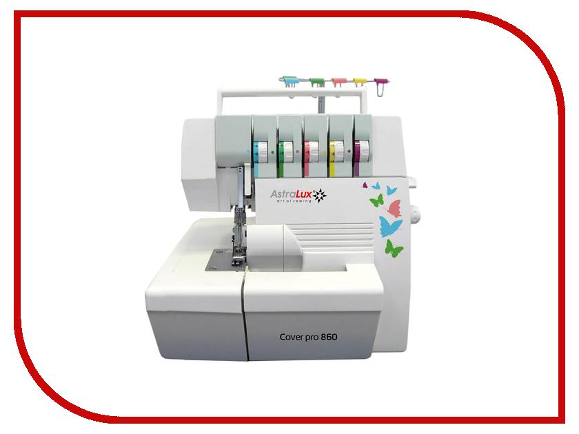 Оверлок Astralux Cover Pro 860 швейная машинка astralux 7350 pro series вышивальный блок ems700