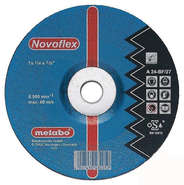 Диск Metabo Novoflex SP 125x6.0 Обдирочный для стали 617024000 пневмостеплер metabo dkg 114 65