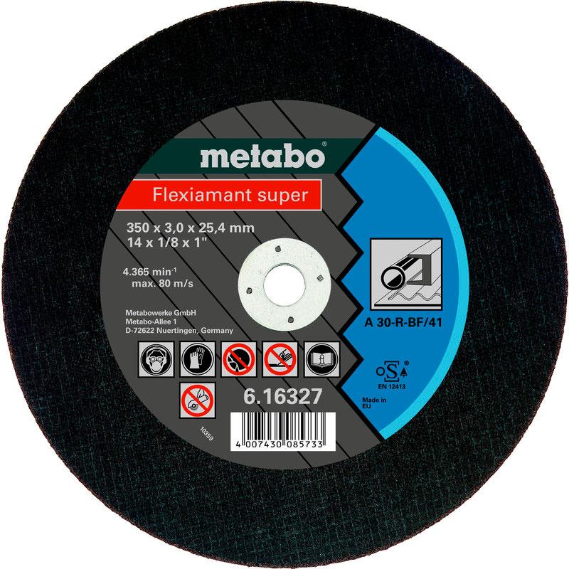Диск Metabo Flexiamant Super 350x3.0 A30R Отрезной для стали 616327000