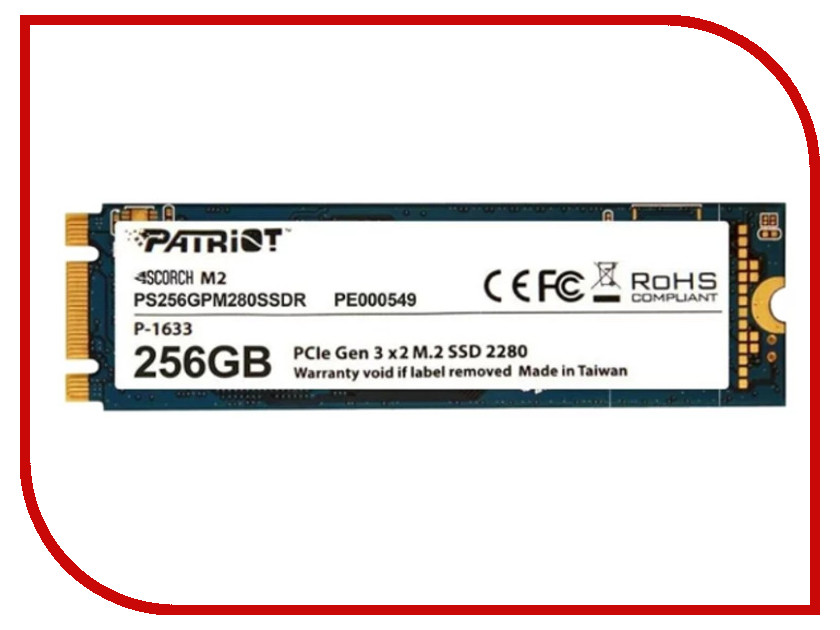 Жесткий диск 256Gb - Patriot Memory Scorch PS256GPM280SSDR
