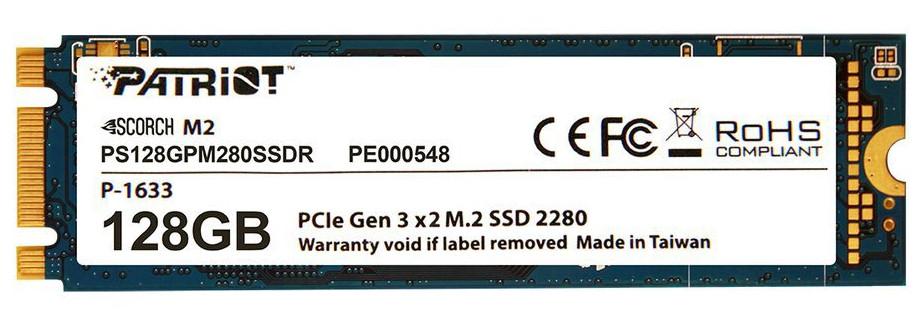 Жесткий диск 128Gb - Patriot Memory Scorch PS128GPM280SSDR цены онлайн