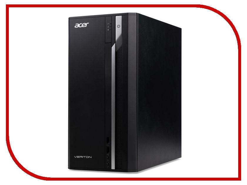 Настольный компьютер Acer Veriton ES2710G Black DT.VQEER.023 (Intel Core i3-7100 3.9 GHz/4096Mb/256GB SSD/Intel HD Graphics/LAN/Windows 10 Home 64-bit) планшетный компьютер acer а500 а510 16gb