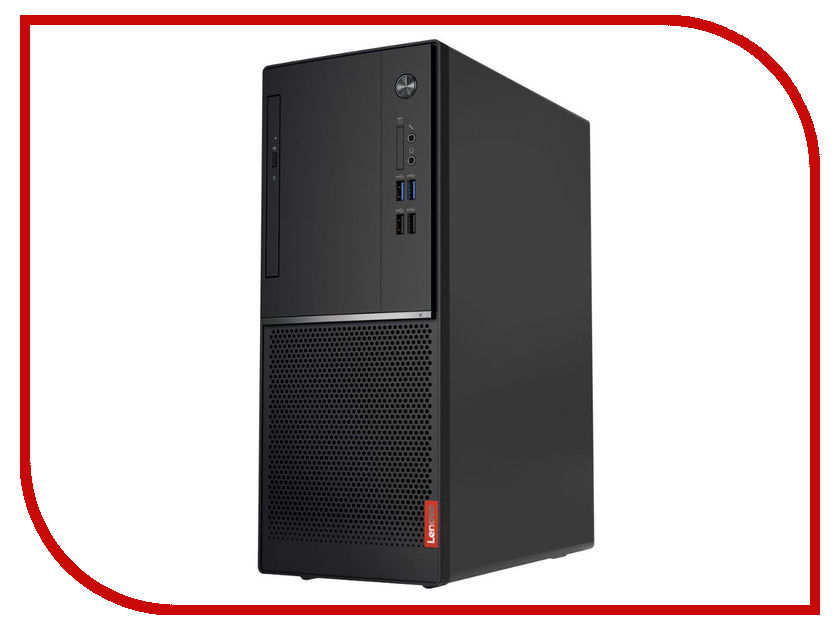 Настольный компьютер Lenovo V320-15IAP MT Black 10N5000HRU (Intel Celeron J3355 2.0 GHz/4096Mb/500Gb/DVD-RW/Intel HD Graphics/LAN/DOS)