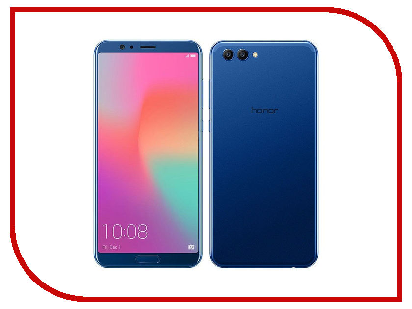 Сотовый телефон Huawei Honor View 10 128Gb Dark Blue сотовый телефон htc u11 plus 128gb amazing silver