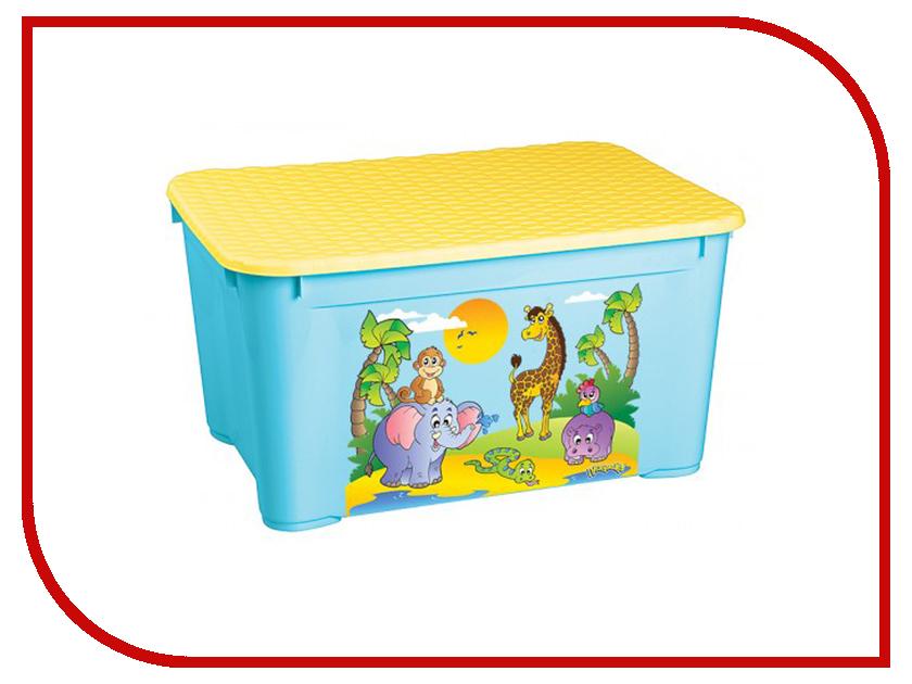 Ящик для игрушек Бытпласт 13776 Blue