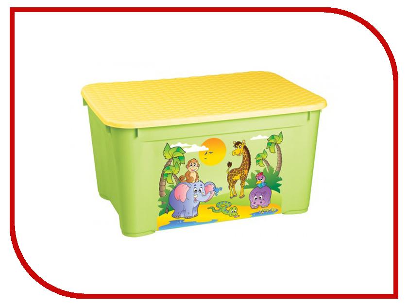 Ящик для игрушек Бытпласт 13776 Green бытпласт горка для купания бытпласт голубая
