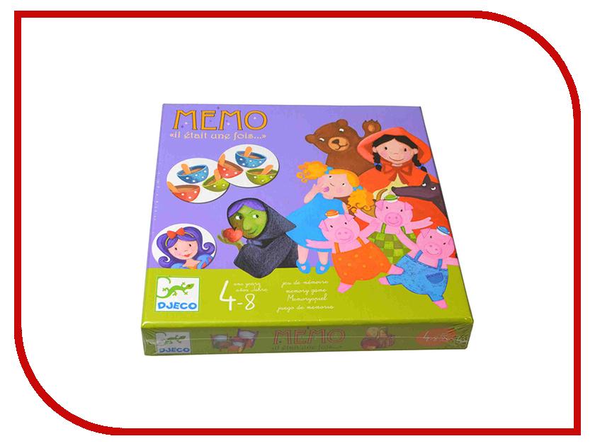 Настольная игра Djeco Мемо - Жили-были 08466 настольная игра гусёк djeco настольная игра гусёк