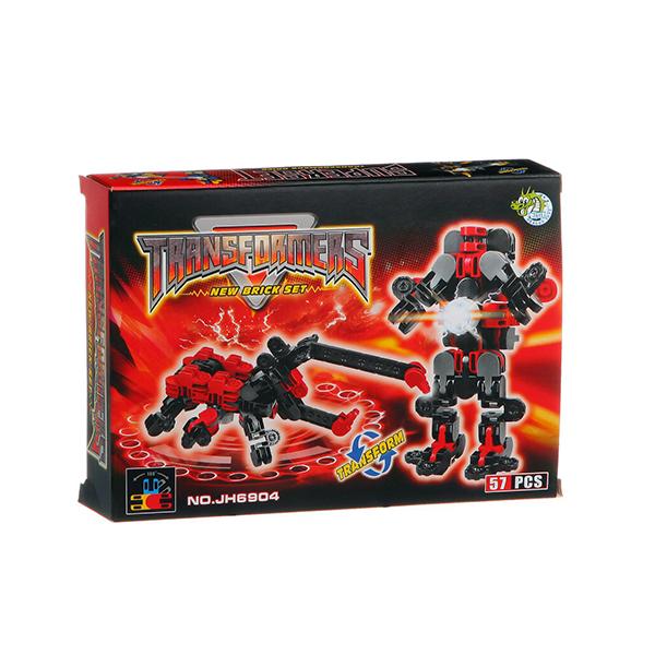 Конструктор Dragontoyz Страйп Трансформер-жук 57 дет. JH6904 город игр робот трансформер hot wings машинка жук