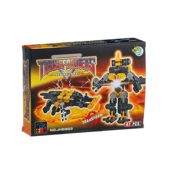 Конструктор Dragontoyz Страйп Трансформер-жук 47 дет. JH6903 город игр робот трансформер hot wings машинка жук