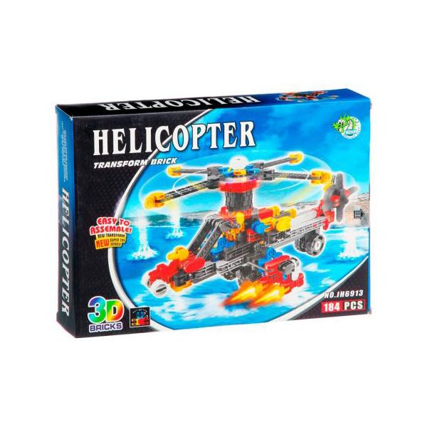 Конструктор Dragontoyz Страйп Вертолет 184 дет. JH6913