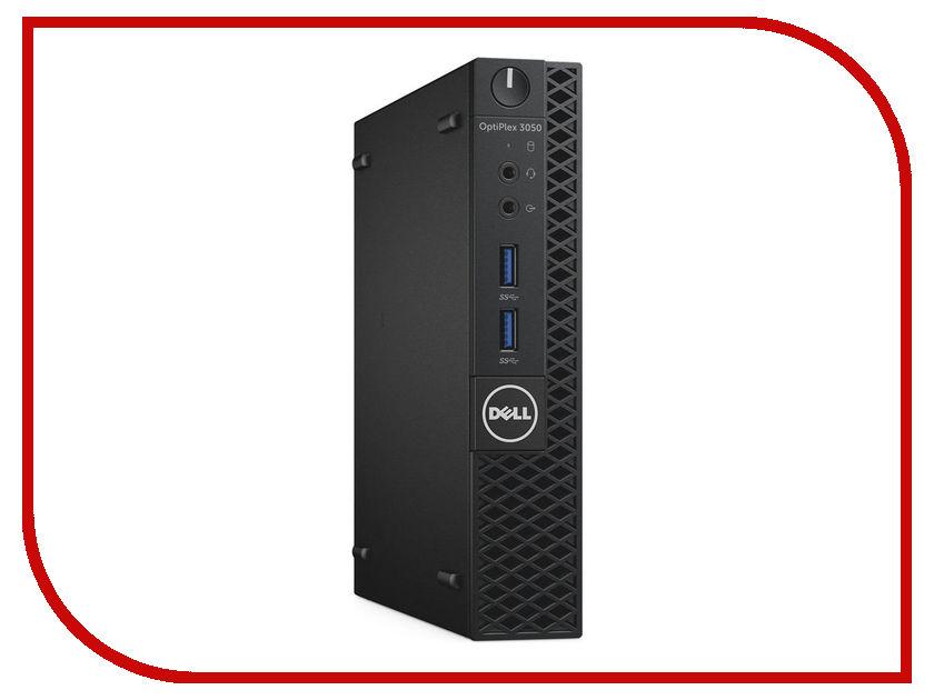 Настольный компьютер Dell OptiPlex 3050 3050-2087 (Intel Core i3-7100T 3.4 GHz/4096Mb/256Gb SSD/Intel HD Graphics/Wi-Fi/Bluetooth/Windows 10 Pro 64-bit)