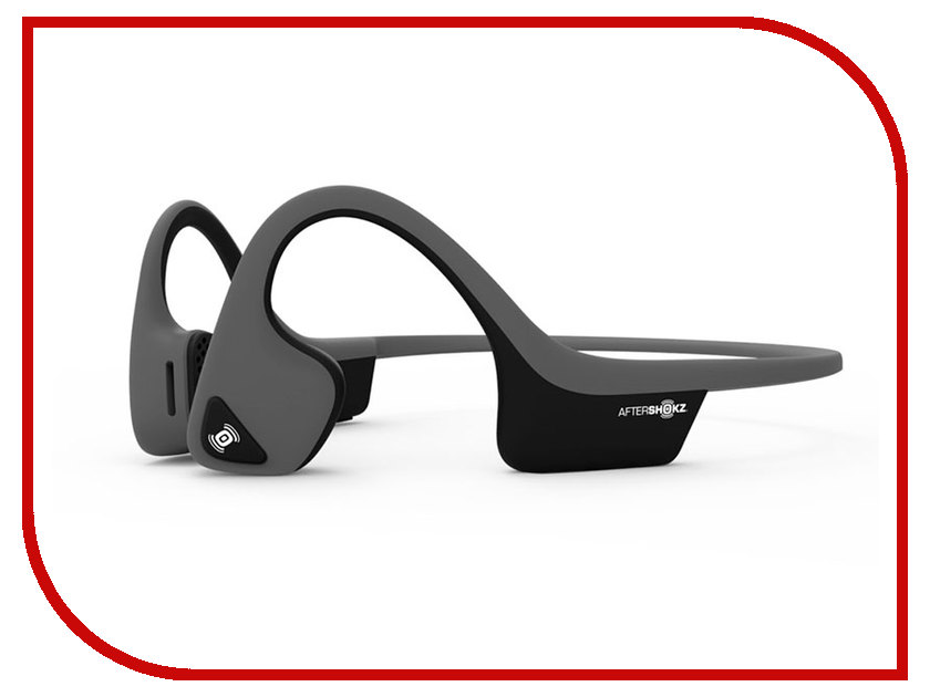 AfterShokz Trekz Titanium Air Slate Grey AS650SG ultra loud bicycle air horn truck siren sound 120db