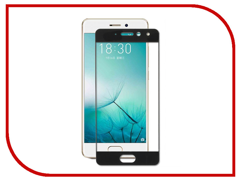 Аксессуар Защитное стекло для Meizu Pro 7 Zibelino TG Full Screen 0.33mm 2.5D Black ZTG-FS-MEI-PRO7-BLK for lenovo zuk z2 lcd screen display with touch screen digitizer panel glass assembly black white replacement parts free shipping