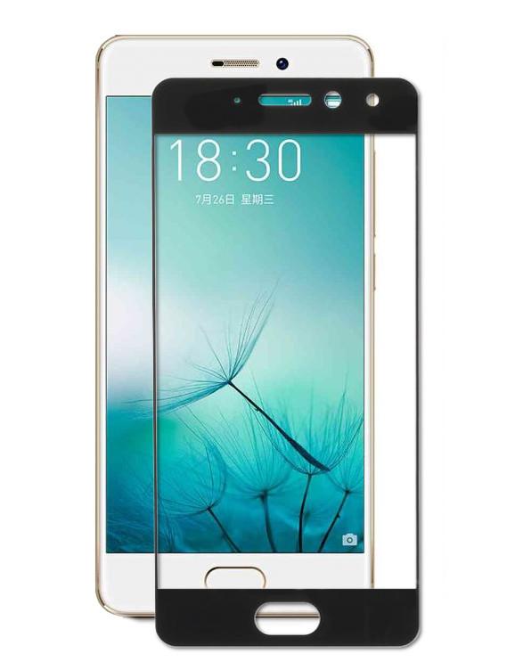 купить Аксессуар Защитное стекло для Meizu Pro 7 Zibelino TG Full Screen 0.33mm 2.5D Black ZTG-FS-MEI-PRO7-BLK по цене 433 рублей