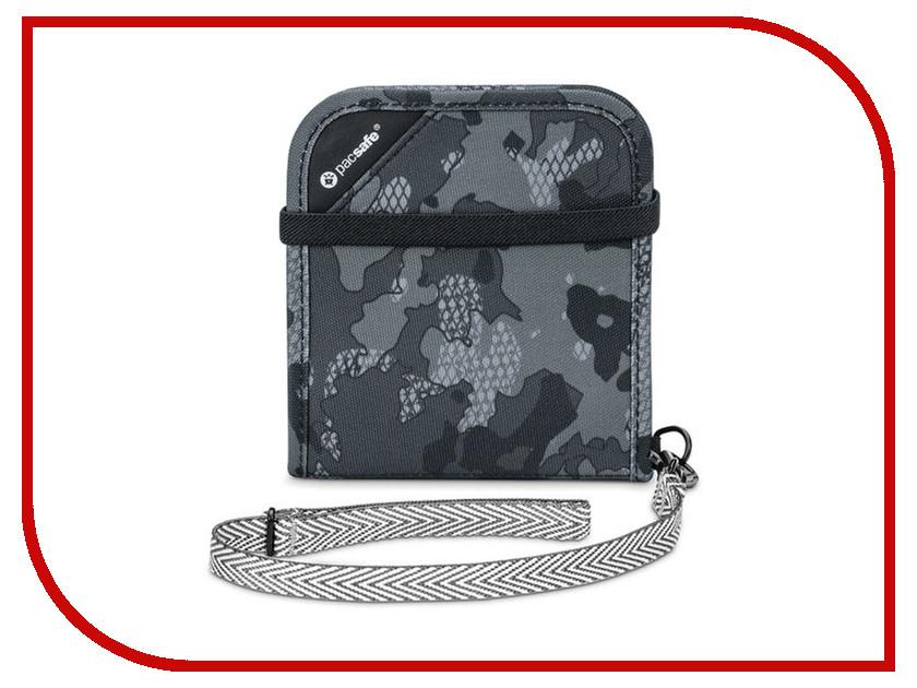 PacSafe RFIDsafe V100 Grey Camouflage