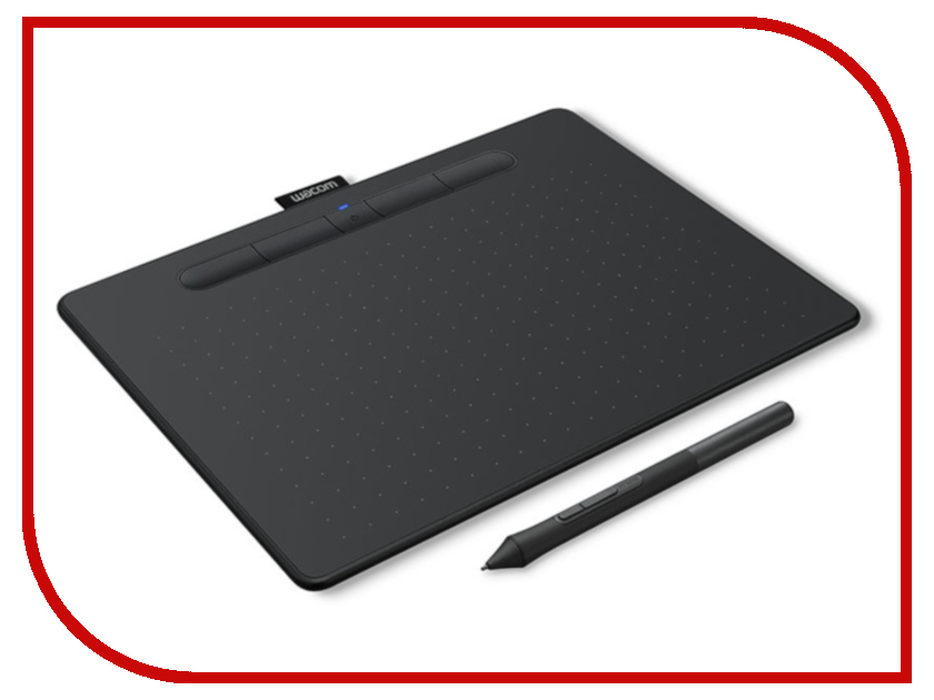 Графический планшет Wacom Intuos M Bluetooth Black CTL-6100WLK-N графический планшет wacom intuos art creative pen and touch tablet m cth 690ck n black