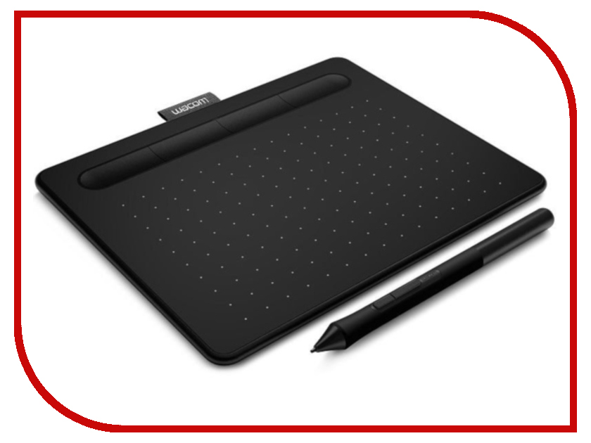 Графический планшет Wacom Intuos S Bluetooth Black CTL-4100WLK-N графический планшет wacom intuos art creative pen and touch tablet m cth 690ck n black