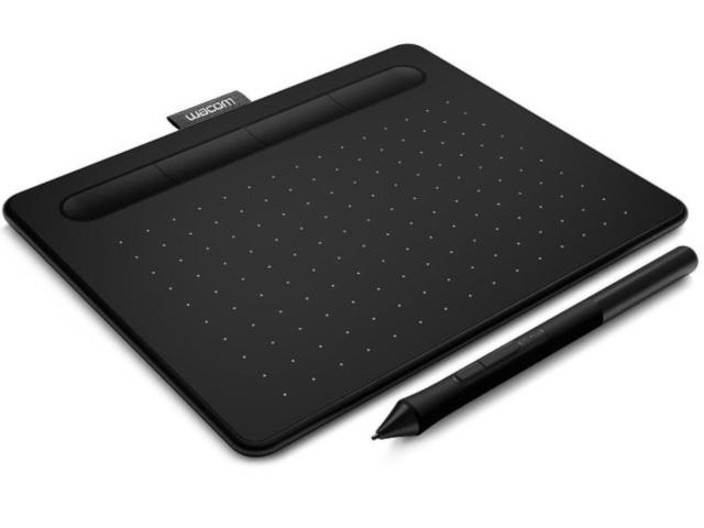 Графический планшет Wacom Intuos S Bluetooth Black CTL-4100WLK-N