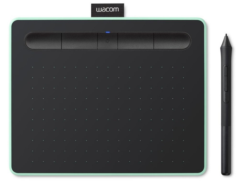 Графический планшет Wacom Intuos S Bluetooth Pistachio CTL-4100WLE-N
