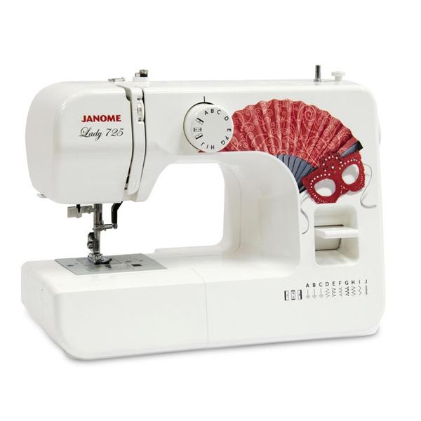 лучшая цена Швейная машинка Janome Lady 725