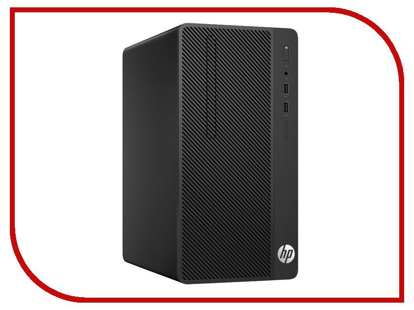 Настольный компьютер HP 290 G1 MT 2RU11ES (Intel Core i5-7500 3.4 GHz/4096Mb/500Gb/DVD-RW/Intel HD Graphics/LAN/Windows 10 Pro 64-bit) настольный пк hp bundle 290 g1 mt 2mt19es 2mt19es acb
