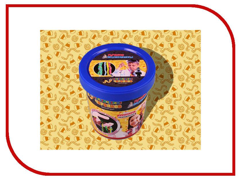 Игра Bumbaram Юный Химик Делаем цветных червяков Yellow Х048