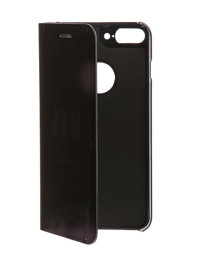 Аксессуар Чехол Zibelino для APPLE iPhone 7 / 8 Plus Clear View Black ZCV-APL-7PL-BLK цена