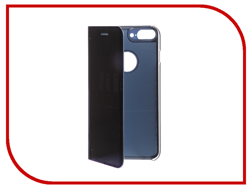 Фото Аксессуар Чехол Zibelino Clear View для Apple iPhone 7 / 8 Plus Blue ZCV-APL-7PL-BLU аксессуар чехол zibelino clear view для apple iphone 7 8 plus blue zcv apl 7pl blu