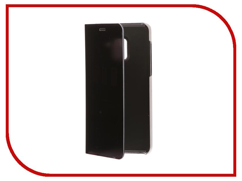 Фото Аксессуар Чехол Samsung A8 2018 A530 Zibelino Clear View Black ZCV-SAM-A530-BLK аксессуар чехол samsung j3 2017 j330f zibelino clear view black zcv sam j330 blk