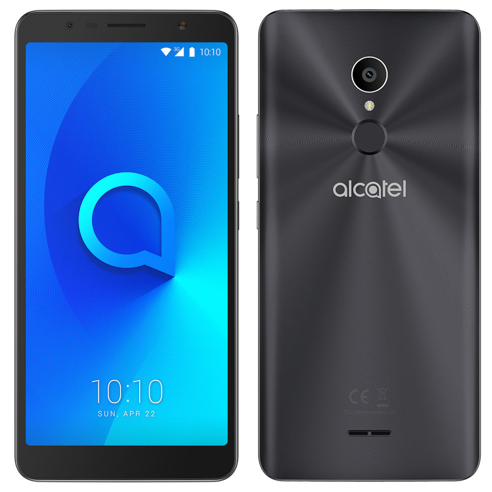 Сотовый телефон Alcatel OneTouch 5026D 3C Metallic Black
