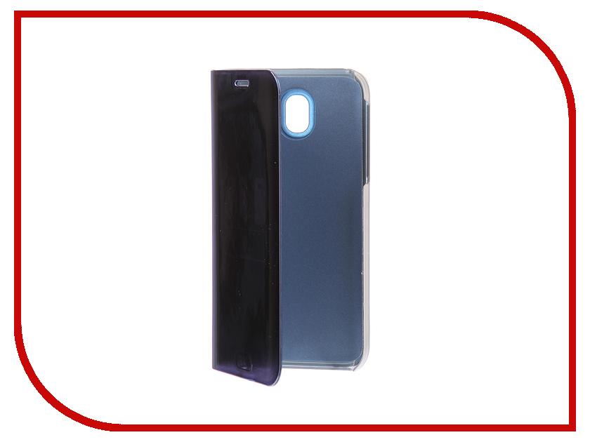 Фото Аксессуар Чехол Samsung J5 2017 J530F Zibelino Clear View Blue ZCV-SAM-J530-BLU аксессуар чехол samsung j5 2017 j530f zibelino clear view gold pink zcv sam j530 pgld