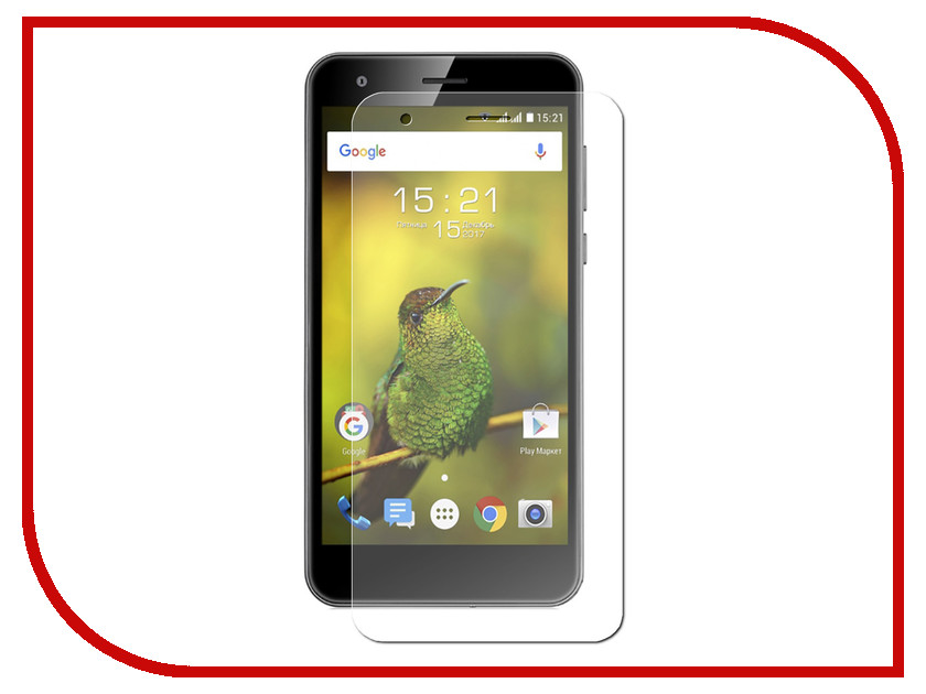 Аксессуар Защитная пленка Fly FS530 Power Plus XXL LuxCase на весь экран прозрачная 88521 защитная пленка luxcase sp tpu для apple iphone 7 plus 8 plus на весь экран глянцевая