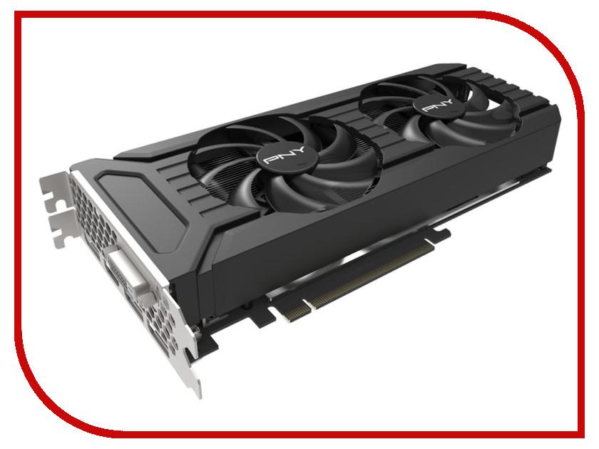 Видеокарта PNY GeForce GTX 1060 1506Mhz PCI-E 3.0 6144Mb 8000MHz 192 bit 3xDP DVI HDMI HDCP GF1060GTX6GEPB видеокарта msi geforce gtx 1060 6144mb gaming 6g dvi d hdmi 3xdp ret