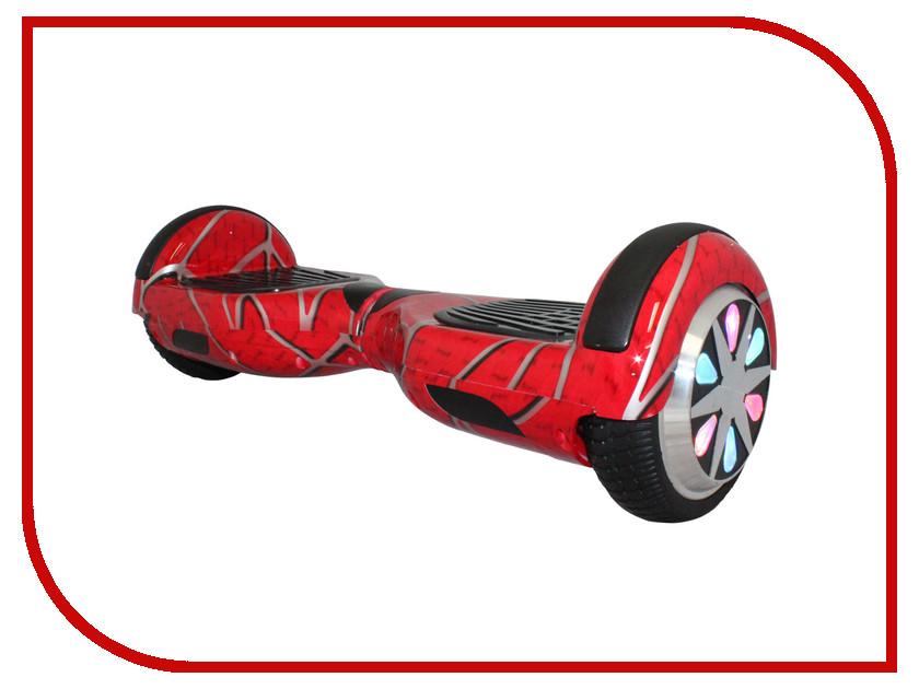 Гироскутер SpeedRoll Premium Smart LED NEW01LAPP Красный человек паук