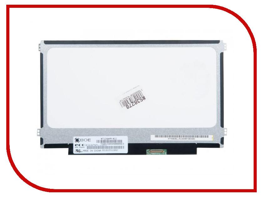 Матрица для ноутбука Chi Mei 11.6 Matte WXGA HD 1366x768 30L (LED) NT116WHM-N11 538278 цена