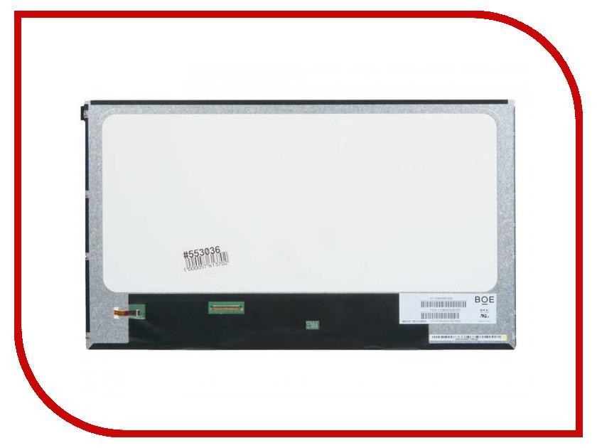 Матрица для ноутбука Chi Mei 15.6 Glare WXGA HD 1366x768 40L (LED) версия 2 тонкая NT156WHM-N50 553036 dlg3416 optoelectronics mr li