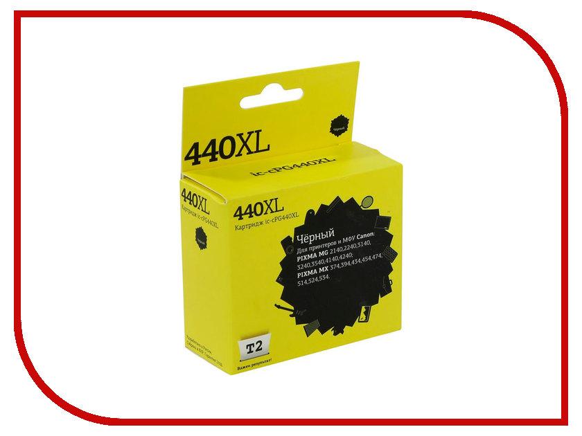 Картридж T2 IC-CPG440XL для Canon Pixma MG2140/3140/3540/MX394/434/474 Black картридж t2 ic cpg440xl для canon pixma mg2140 3140 3540 mx394 434 474 black