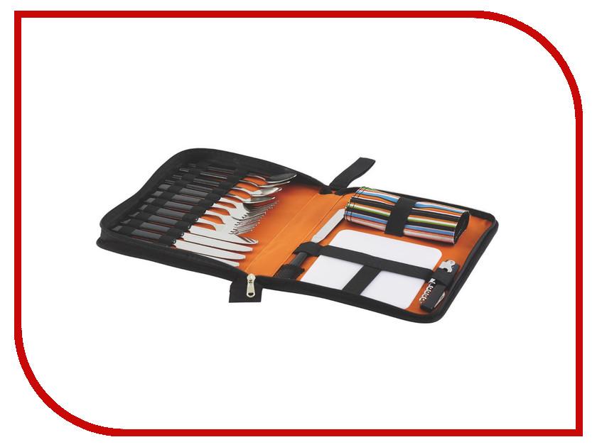 Набор столовых приборов Outwell Picnic Calyx Cutlery Set Summer 590028